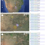Recent Earthquakes - Botswana/South Africa